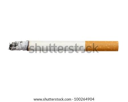 cigarette isolated ストックフォト ©