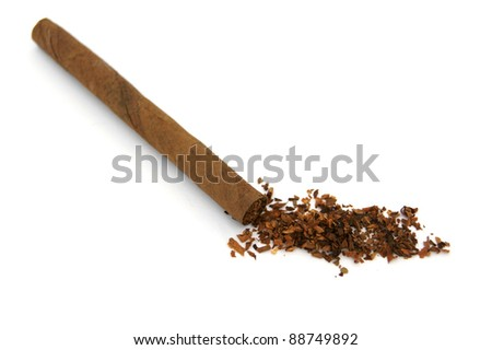 Cigarillos - isolated on white