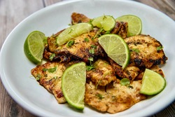 Cilantro Lime Chicken on Plate