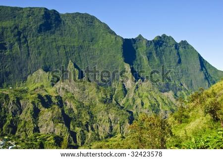 Cilaos, La Reunion Island, Indian Ocean