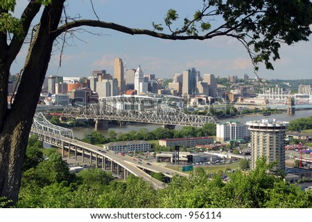 Cincinnati, Ohio - view from Devou Park
