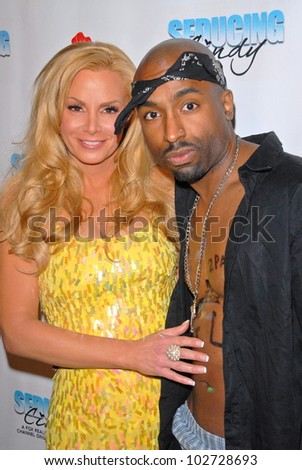 "Cindy Margolis and Josh Harraway  at the Fox Reality Channel's ""Seducing Cindy"" Finale Party, Guy's North, Studio City, CA. 03-18-10"