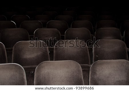 Cinema chairs