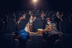 Cinema, movie theatre during quarantine.