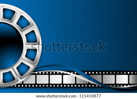 Cinema theme background