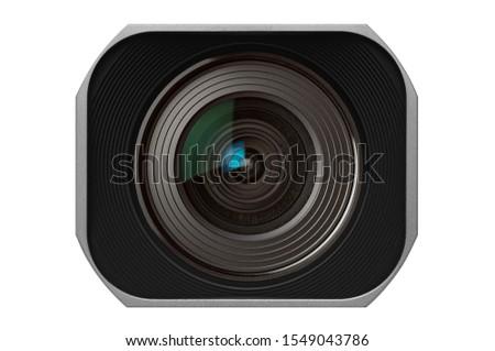 Cinematography Camera Lens with Rectangular Lens Hood