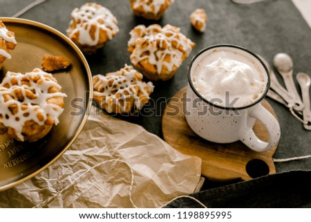 Cinnamon Buns with Frosting