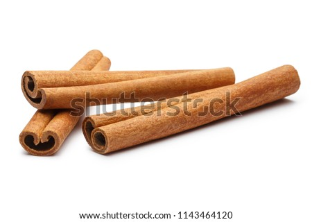 Cinnamon sticks, isolated on white background #1143464120