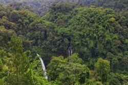 Ciparay Waterfall Tasikmalaya from the Top