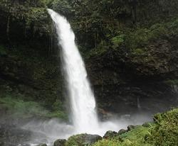 Ciparay Waterfall Tasikmalaya West Java Indonesia