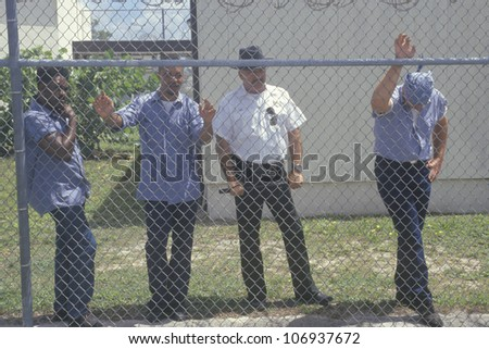 CIRCA 2002 - Inmates from Dade County Men's Correctional Facility, Florida