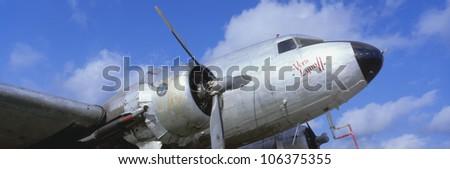 CIRCA 1998 - Vintage aircraft, Burnet, Texas