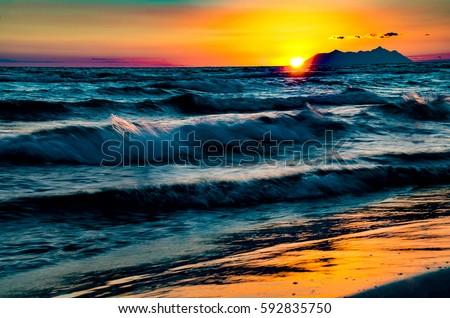 Circe sunset #592835750