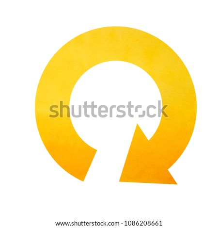 circle arrow icon, refresh icon