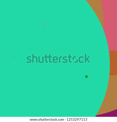 Circle geometric amazing abstract background multicolored pattern.
