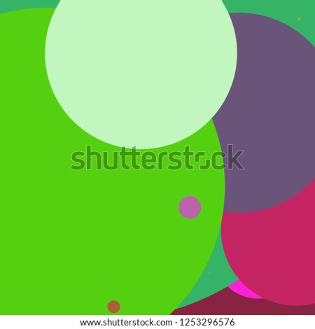 Circle geometric beautiful abstract background multicolored pattern.