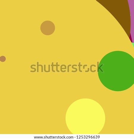 Circle geometric great abstract background multicolor pattern.