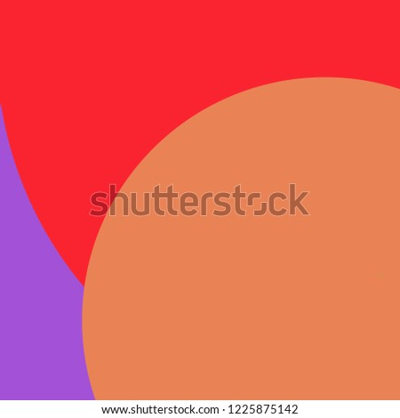 Circle geometric lovely abstract background multicolor pattern.