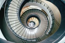 circle stairs design