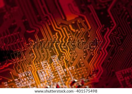 circuit board #401575498