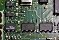 Circuit Board Connector Plate Macro