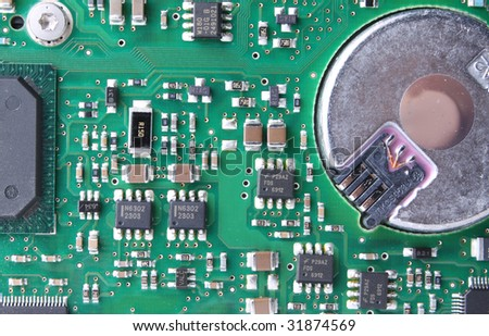 Circuit Board Detail