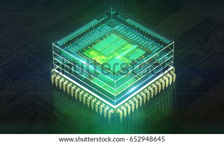 Circuit board. Electronic computer hardware technology. Motherboard digital chip. Tech science EDA background. Integrated communication processor. Information CPU engineering 3D render background