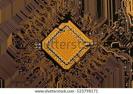 Circuit board golden