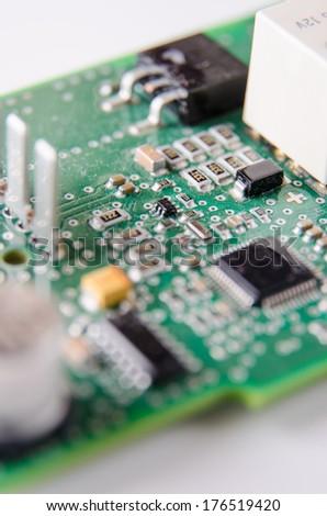Circuit board in working progress. #176519420