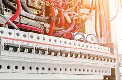 Circuit breaker electric switch.