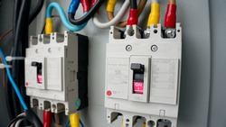 circuit breakers were installed in the steel main distribution board
