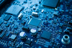 Circuit computer motherboard, Circuit chip board.