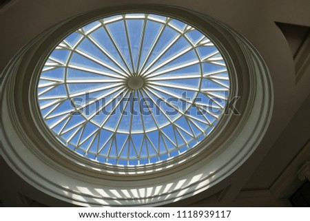 Circular Atrium Window