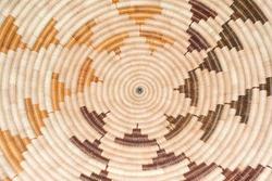 Circular Basket weave pattern background