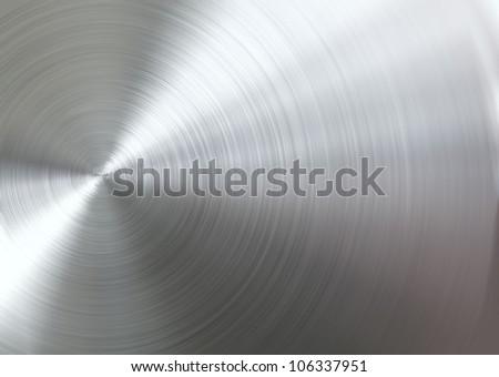 Circular brushed metal