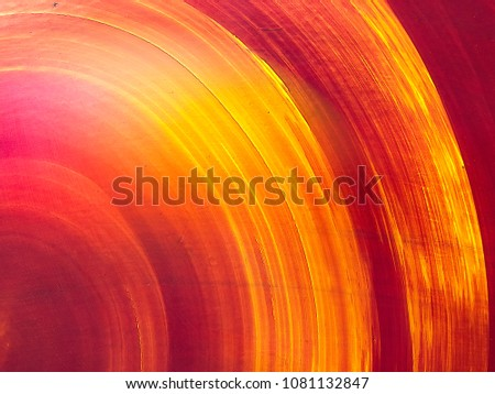 Circular painted flat background #1081132847