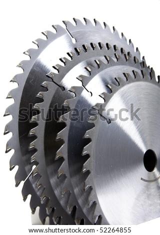 Circular Saw blades - stock photo