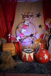 circus art fun circus stars party