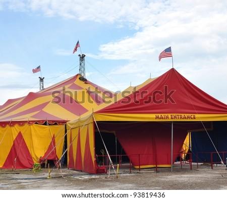 Circus Tents Main Entrance #93819436