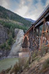 Cisco Bridge Over a River