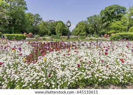 Cismigiu Gardens, Bucharest, Romania