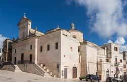 Cisternino – Saint Nicola church (San Nicola di Patera) in Cisternino, Province of Brindisi; Puglia, Italy