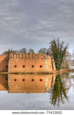 Citadel - a fortress near the city of Spandau, Germany. HDR composite (5 exposures) shots.