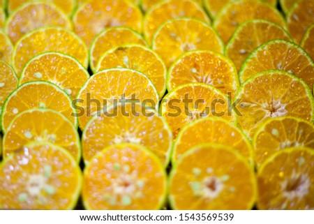 Citrus fruits have a sour taste.
