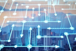 City and wireless communication network