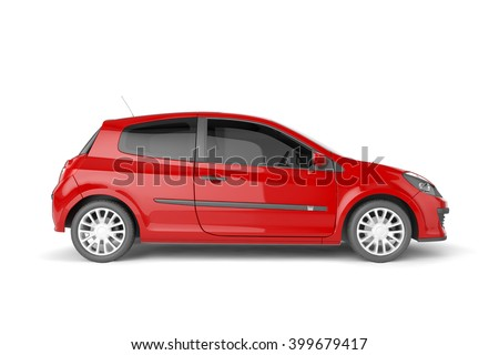 city car with blank surface for ...