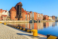 City center of Gdansk, Poland