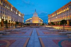 City centre of Sofia, capital of Bulgaria