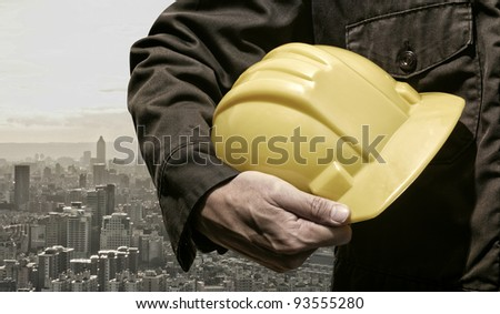 city construction worker