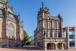 City hall called Devils house or Maarten van Rossum house  in Arnhem the Netherlands